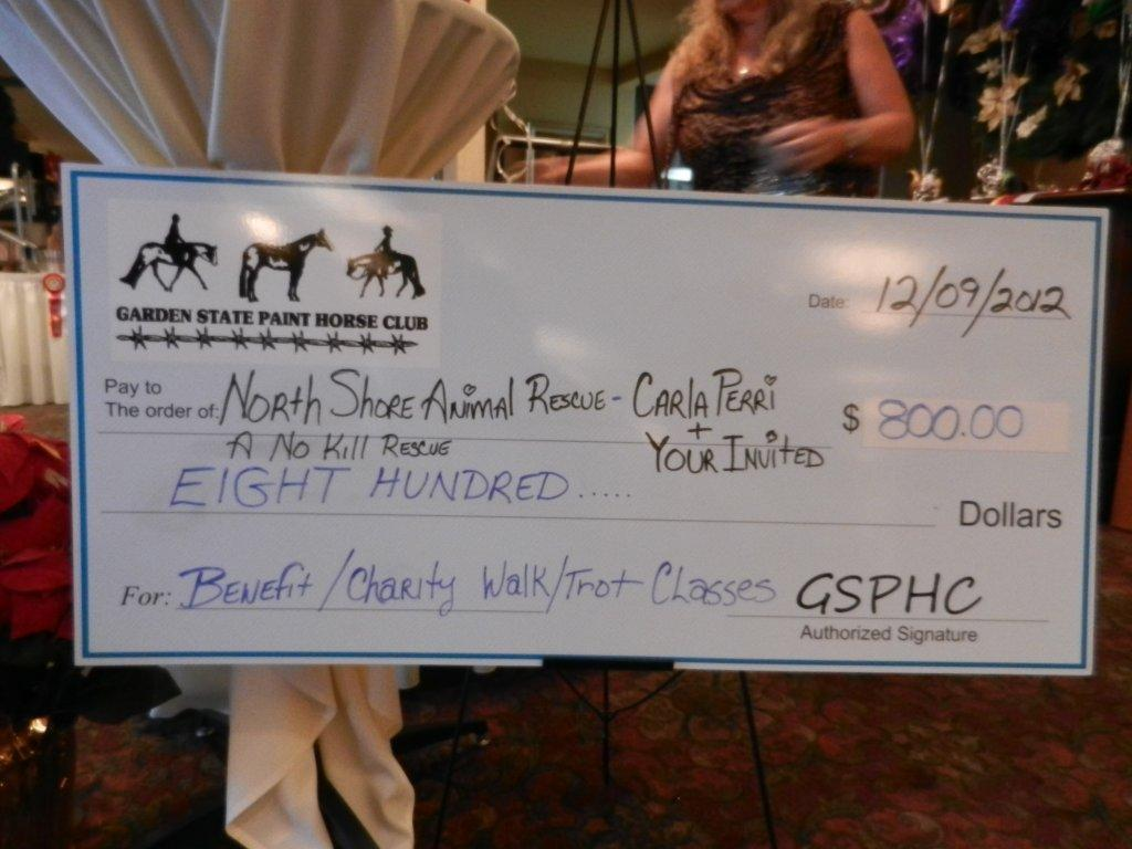 THE BIG CHECK!!!